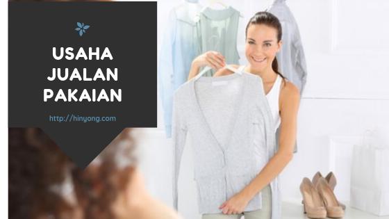 Bisnis Sampingan Jualan Baju