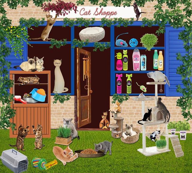 Toko dan Salon Hewan