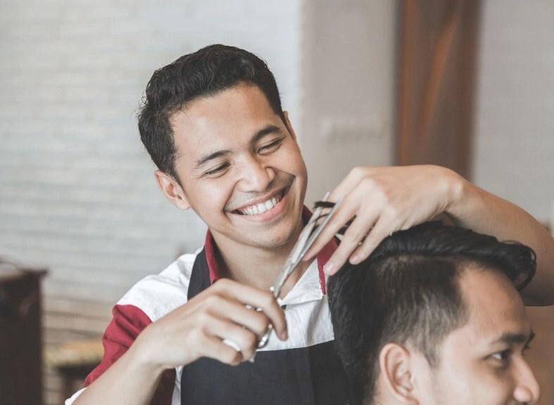 Usaha Salon di Kampung