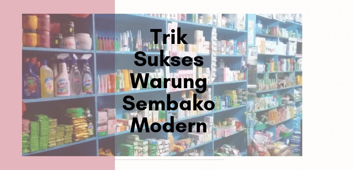 Usaha Warung Sembako Modern