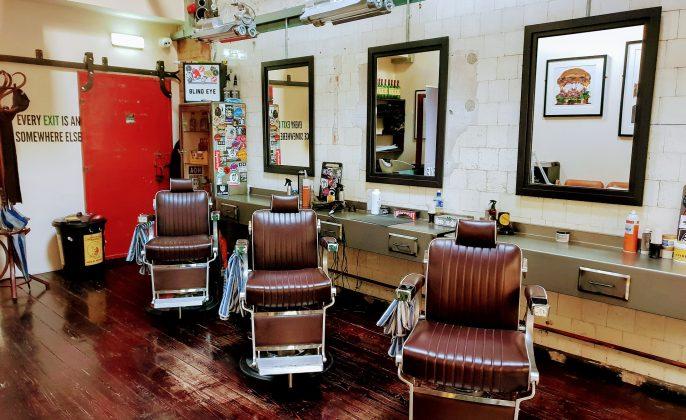 Konsep desain barbershop